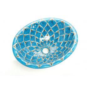 Aqua Azul - mała umywalka wpuszczana