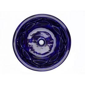Josune - Umywalka okrągła wpuszczana