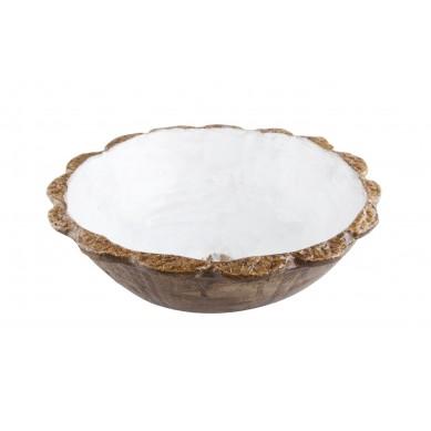 Kaja - umywalka rustykalna ze słoneczną koronką