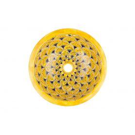 La Yema - Umywalka okrągła wpuszczana mała