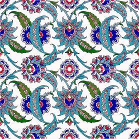 Kelebek - tureckie płytki ścienne Iznik
