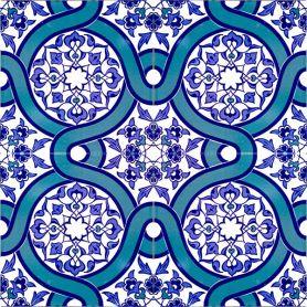 Mert - ścienne tureckie płytki ceramiczne Iznik