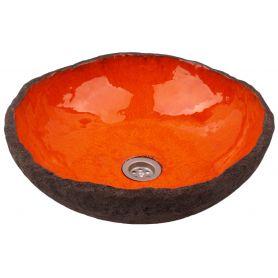 Polmira - umywalka o organicznym kształcie