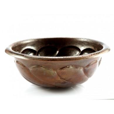 Malvina - dekoracyjna umywalka miedziana