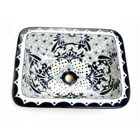 Lavinia - Meksykańska umywalka prostokątna