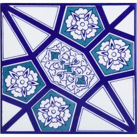 Levent - ceramiczne płytki z Turcji 20x20cm, opakowanie 12 sztuk (0,48m2)