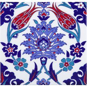 Makbule - ceramiczne płytki z Turcji 20x20cm, opakowanie 12 sztuk (0,48m2)