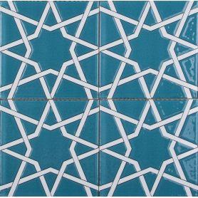 Arslan - ceramiczne płytki z Turcji 20x20cm, opakowanie 12 sztuk (0,48m2)