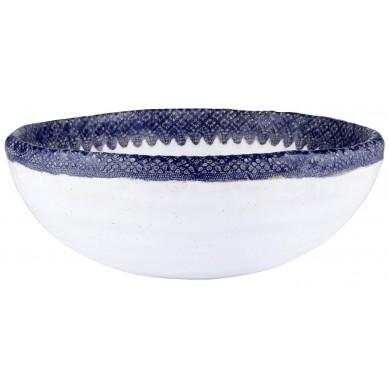 Brygida - ręcznie formowana umywalka z koronką
