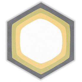 Zen - Heksagonalne płytki cementowe