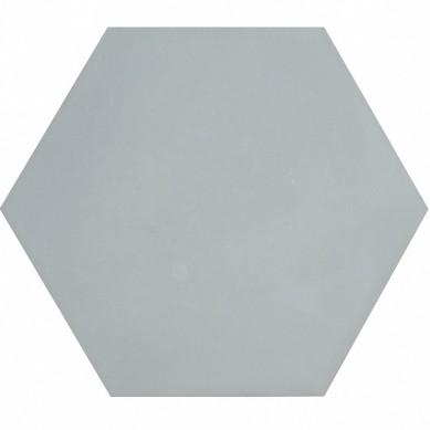 Heksagonalne kafle jednobarwne - szare