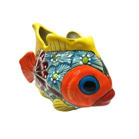 Ceramiczna ryba - donica z Meksyku