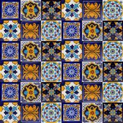 Palner- zestaw 6 wzorów - 30 płytek - kolor niebieski