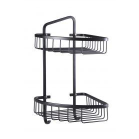 Giorgio - czarny koszyk prysznicowy