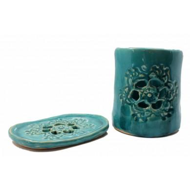 Ceramiczny zestaw łazienkowy